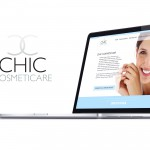 Logo and Website for Chic Cosmeticare