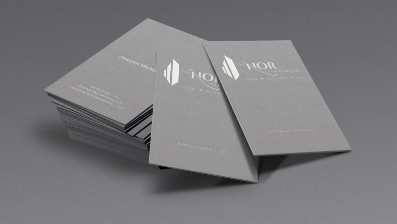 NOR Business Card Design